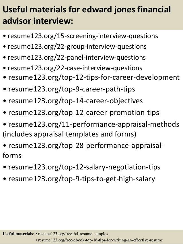 financial advisor resume financial advisor resume sample 9 ...