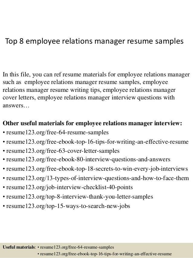 https://image.slidesharecdn.com/top8employeerelationsmanagerresumesamples-150408062657-conversion-gate01/95/top-8-employee-relations-manager-resume-samples-1-638.jpg?cb\u003d1428492469