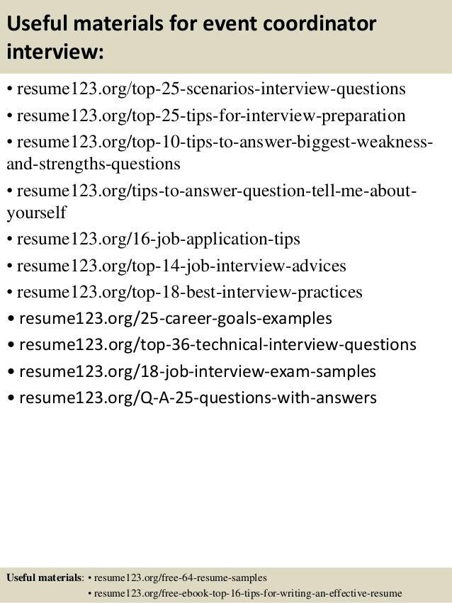 Event Coordinator Resume Event Planner Resume Example 9 Best Best