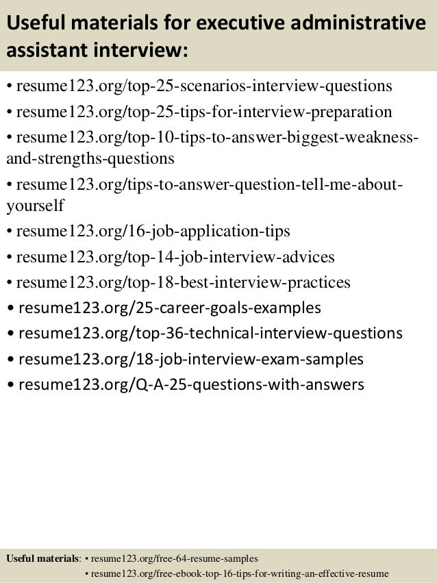 top 8 executive administrative assistant resume samples - Construction Administrative Assistant Resume