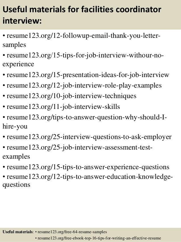 office coordinator resume samples