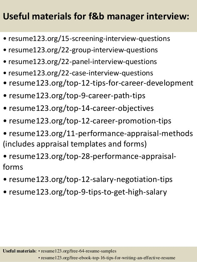 Restaurant Assistant Manager Resume Templates CV Example Job Fast Food  Shift Manager Resume Assistant Food Beverage