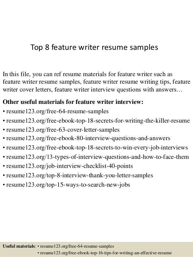 Cheerful Resume Writing Examples 16 Free Resume Samples Writing