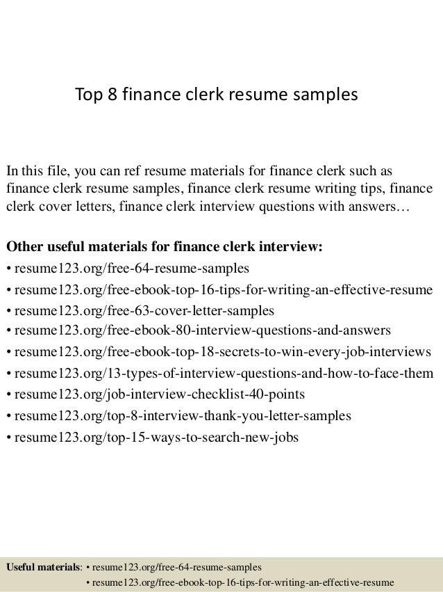 top-8-finance-clerk-resume-samples-1-638.jpg?cb=1428657609