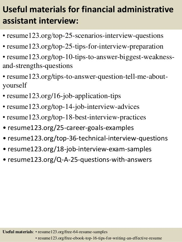 Answer To Phone Resume Administrative Assistant