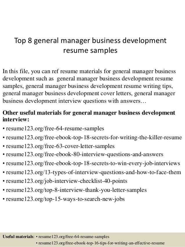 top-8-general-manager-business-development-resume -samples-1-638.jpg?cb=1432976960