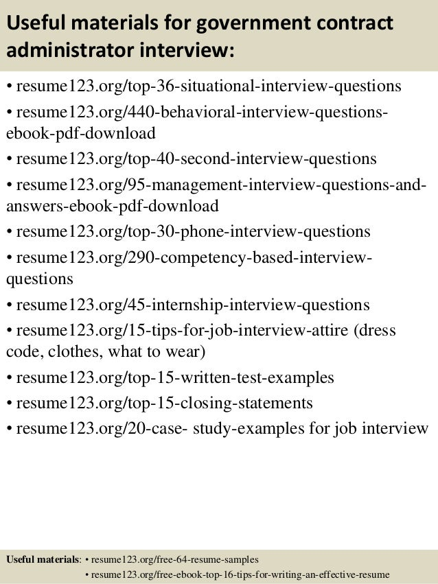 Government Resume Template | Resume Format Download Pdf