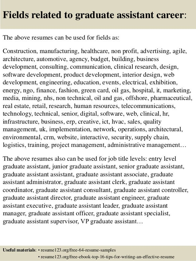 16 fields related to graduate. Resume Example. Resume CV Cover Letter