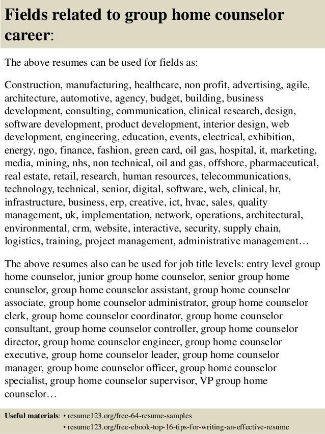 Group Home Worker Sample Resume] Group Home Worker Sample Resume ...