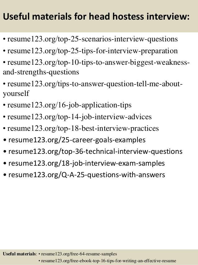 Resume Example Hostess Waitress Within How To Write A For Server – Hostess Resume