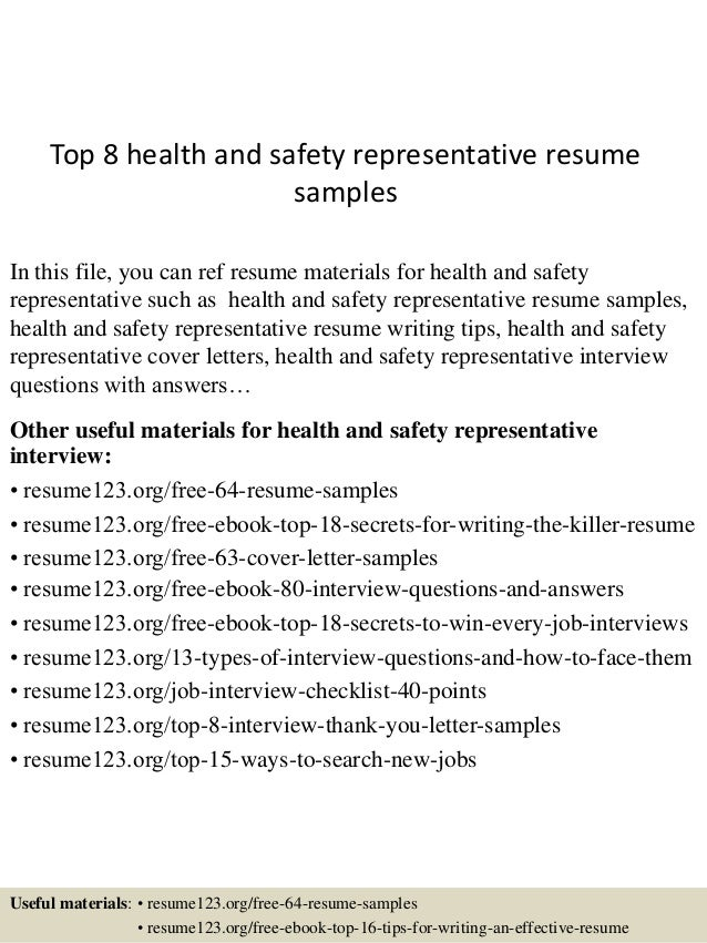 health and safety resume examples juve cenitdelacabrera co