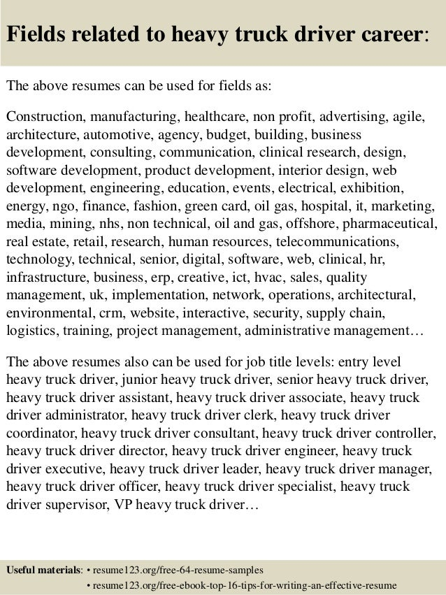 Template Template Glamorous Cdl Truck Driver Resume Cdl Class A Truck  Driver Resume Free Cdl Truck  Truck Drivers Resume