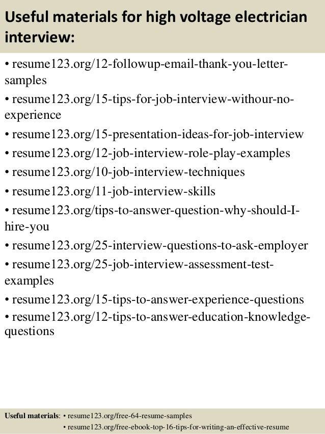 electrician resume sample free sample resume cover - Electrician Resume Sample