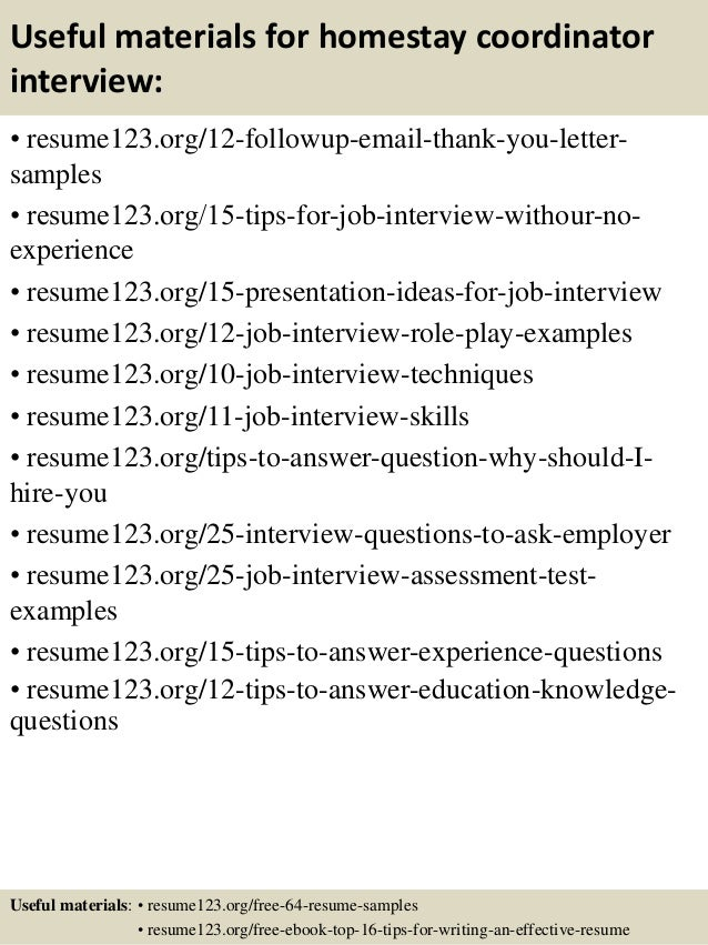 16 - Sample Youth Program Coordinator Resume