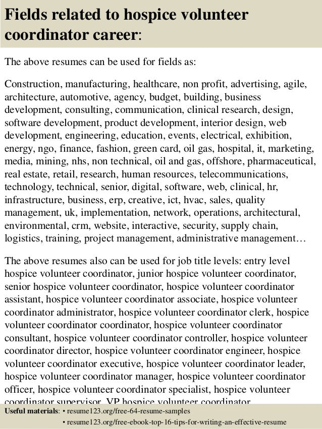 Hospice Resume Hospice Nurse Resume Image Result For Resume For Hospice  Volunteer Coordinator