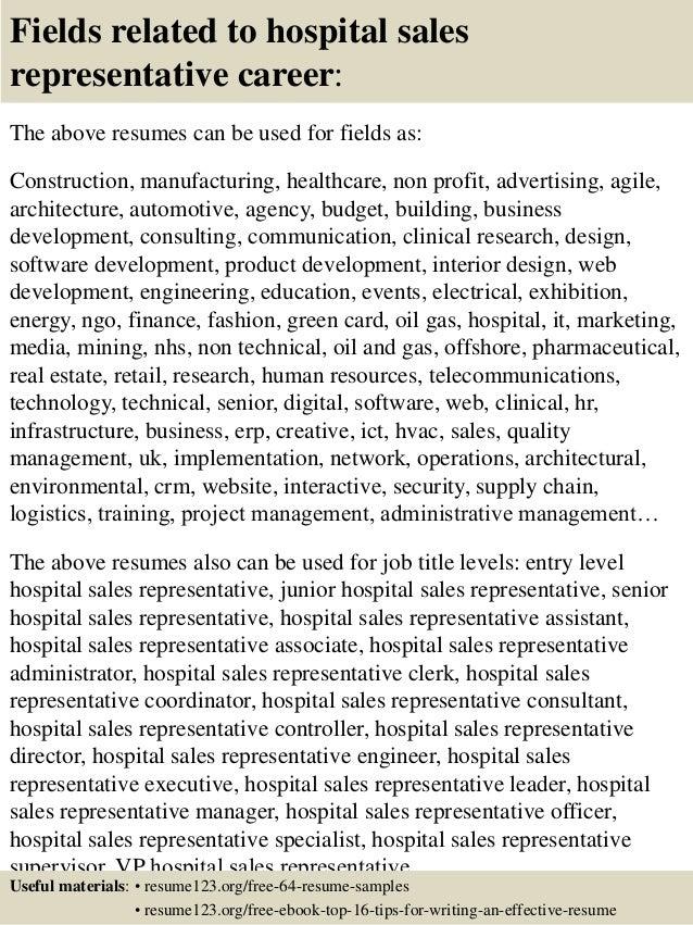 pharmaceutical sales resume example - Pharmaceutical Sales Resume Examples