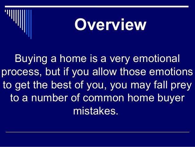 Top 8 House Hunting Mistakes