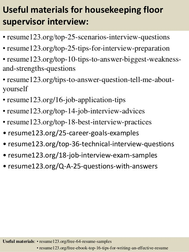 Housekeeping Resume Entry Level. Sample Housekeeping Resume