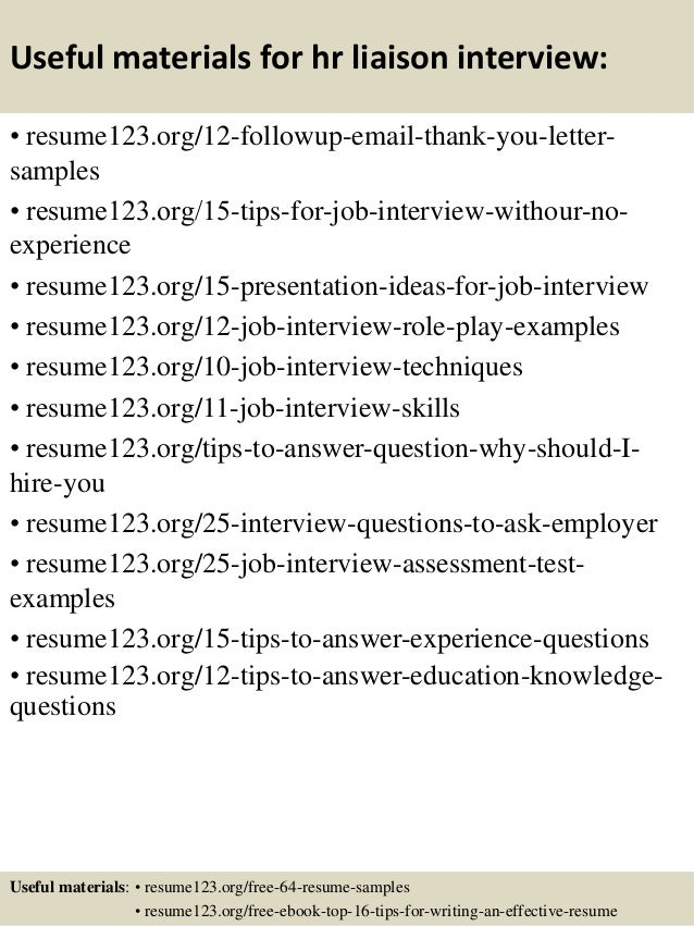 Resume Sample Resume Hr Secretary top 8 hr liaison resume samples 14 useful materials for hr