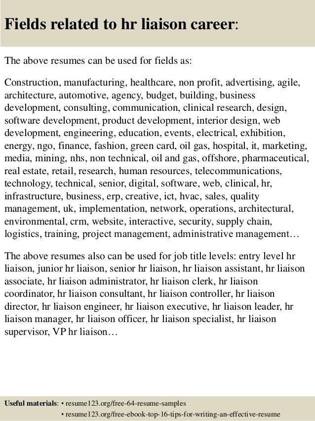 16 - Entry Level Hr Resume