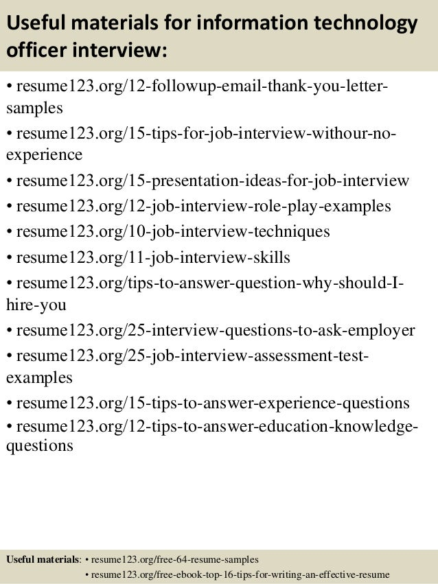 Information Technology Resume Samples Information Technology It Resume  Sample Resume Genius Federal Resume Sample B Public  Information Technology Resume Examples