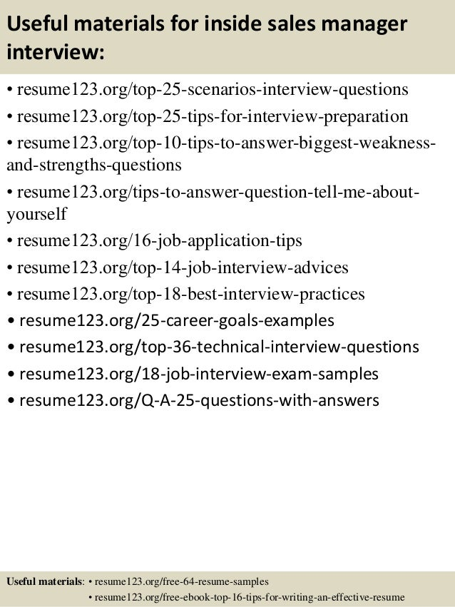 Inside sales resume objective Top   inside sales manager resume samples In this file  you can ref resume  materials