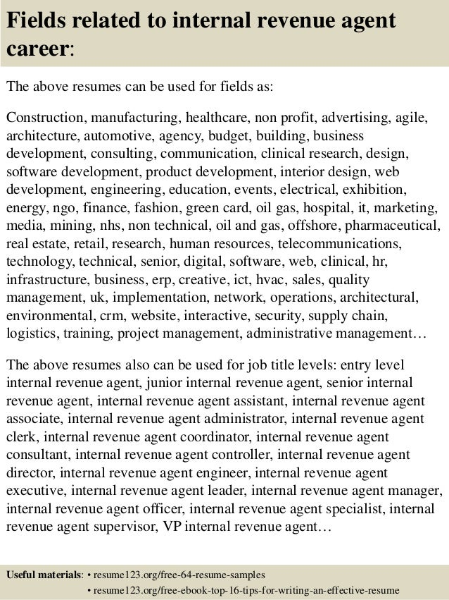 16 fields related to internal