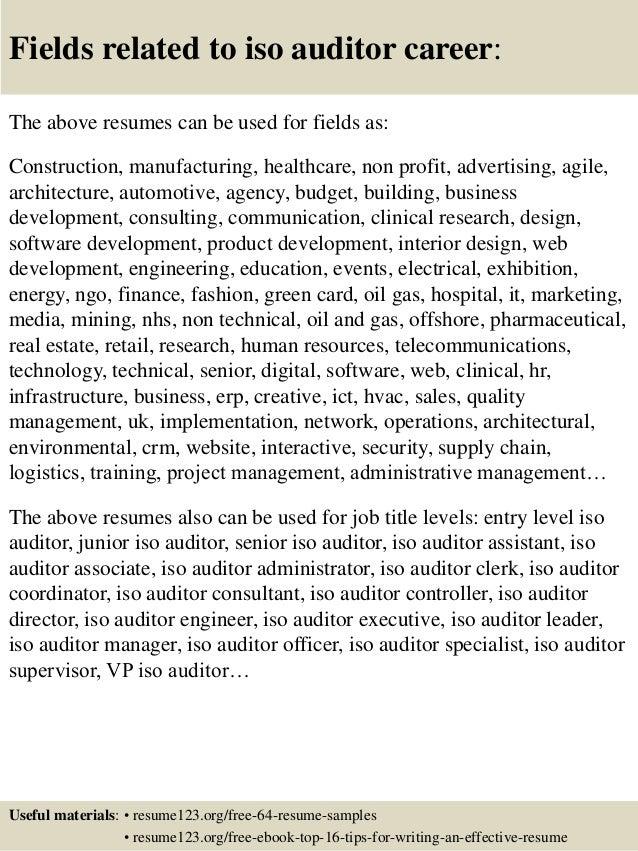 Internal Audit Director Resume Samples. sample audit resume resume ...