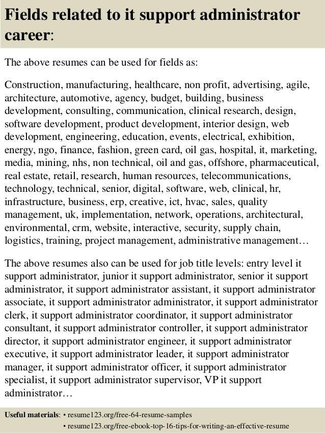 linux administrator resume samples
