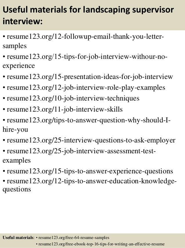 landscaping resume sample landscaping resume sample landscape