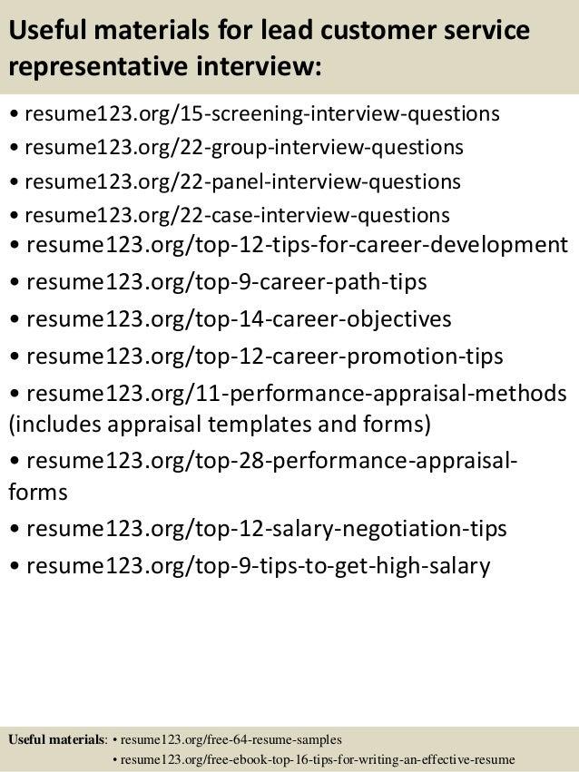 Customer service rep banking resume