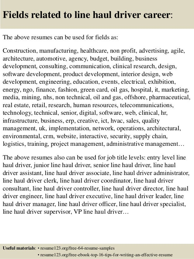 Delivery Truck Driver Resume Example Free A Part Of Under Professional  Resumes Break Up Dravit Si  Truck Driver Resume