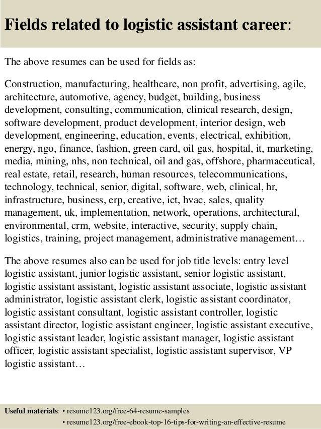 Resume For Assistant Buyer SlideShare