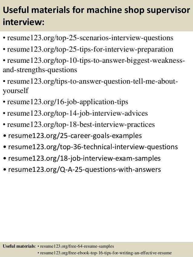 resume machine