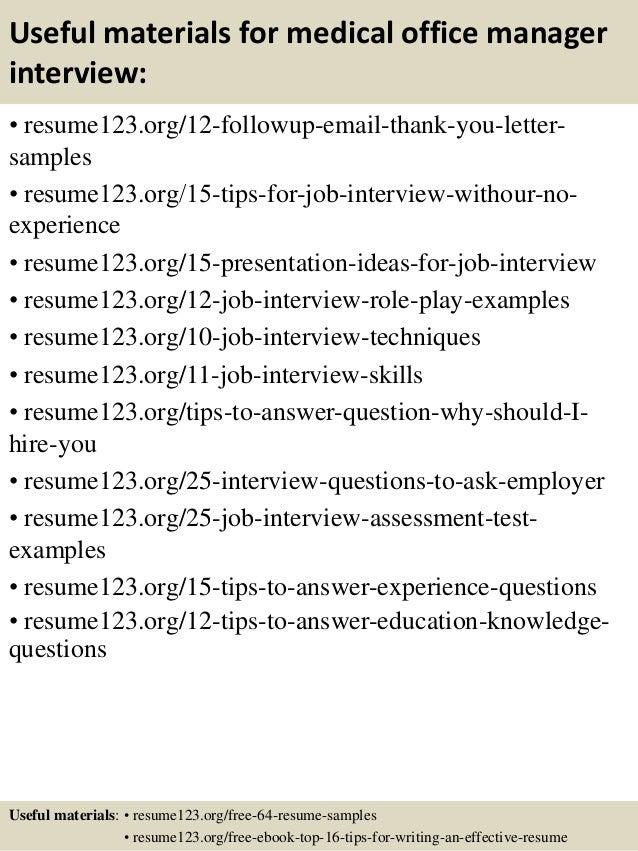 Medical office manager resume samples – Sample Resume Medical Office Manager