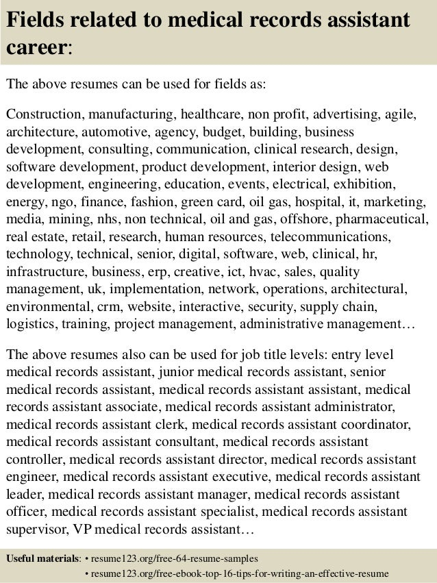 resume sample receptionist or medical assistant random break - Sample Medical Assistant Resume