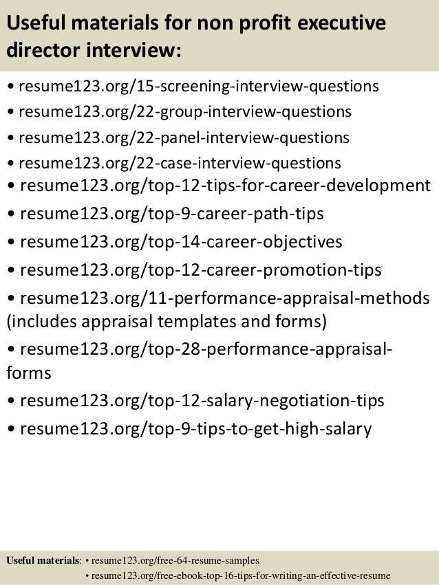 Sample Objectives Resume Sales Career Change Cover Letter Sample Sample  Director Of Development Resume Nonprofit By