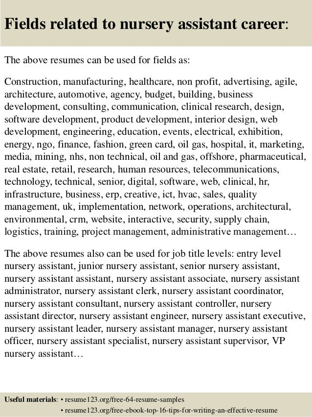 Famous Creche Manager Resume Festooning - Administrative Officer ...