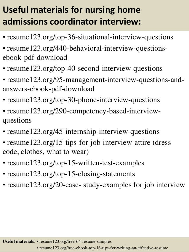 Sample Resume Activities Director Nursing Home - frizzigame