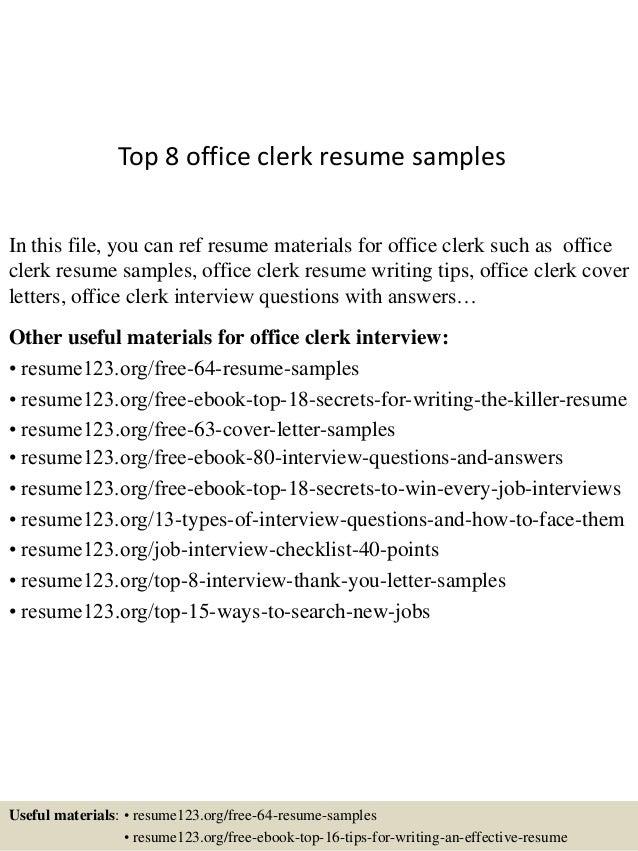 top-8-office-clerk-resume-samples-1-638.jpg?cb=1430027713