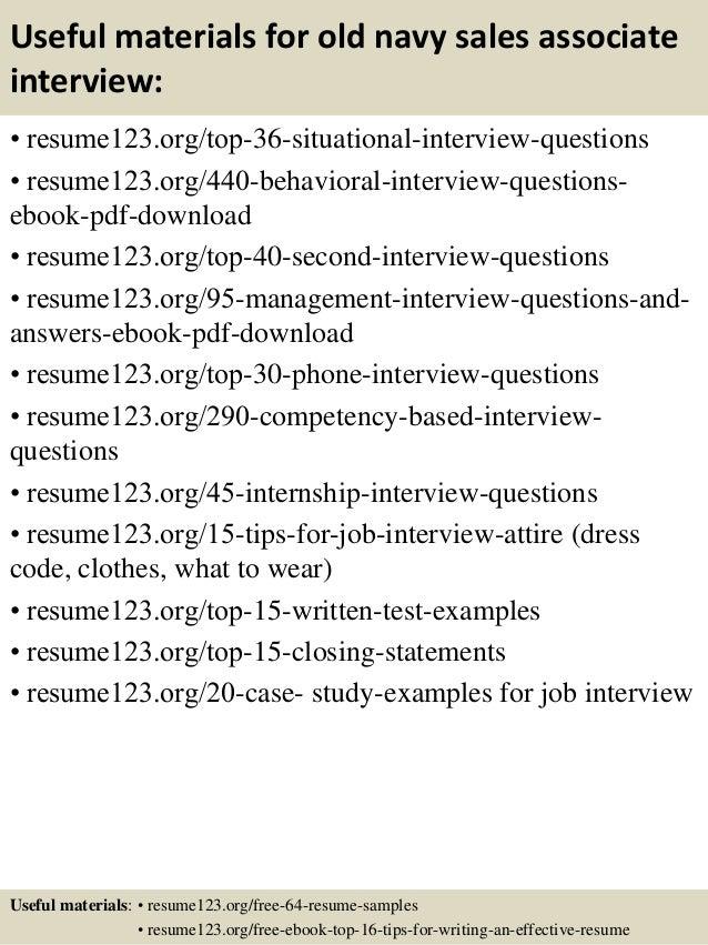 Resume Responsibilities For Sales Associate