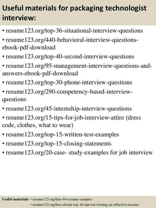 software packaging resume