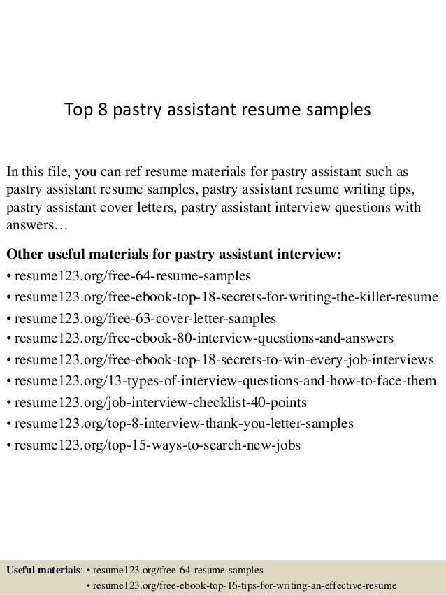 https://image.slidesharecdn.com/top8pastryassistantresumesamples-150529143747-lva1-app6892/95/top-8-pastry-assistant-resume-samples-1-638.jpg?cb\u003d1432910315