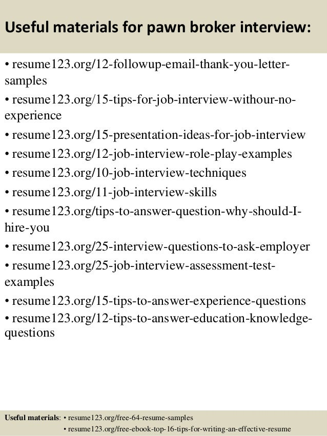 14 - Brokerage Clerk Sample Resume