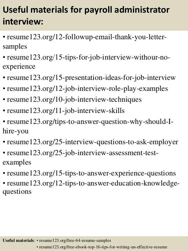 Payroll Administrator Job Description Sasolo Annafora Co