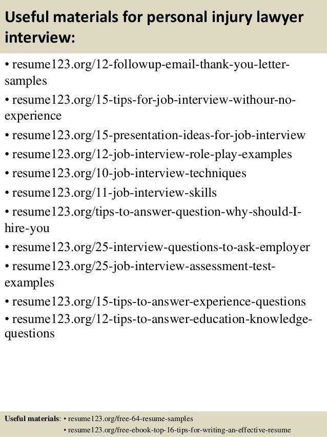 14 - Lawyer Resume