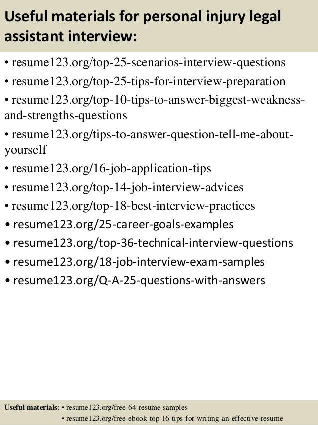 13 - Sample Resume Paralegal