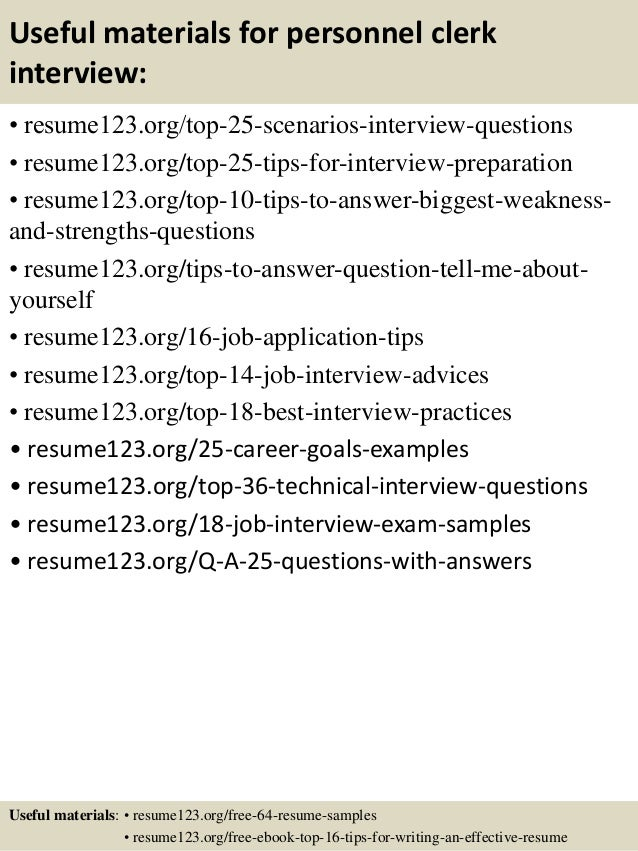 Personnel Resume. top 8 personnel officer resume samples ...