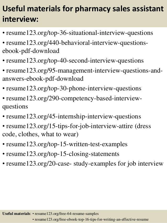 pharmacy assistant resume samples