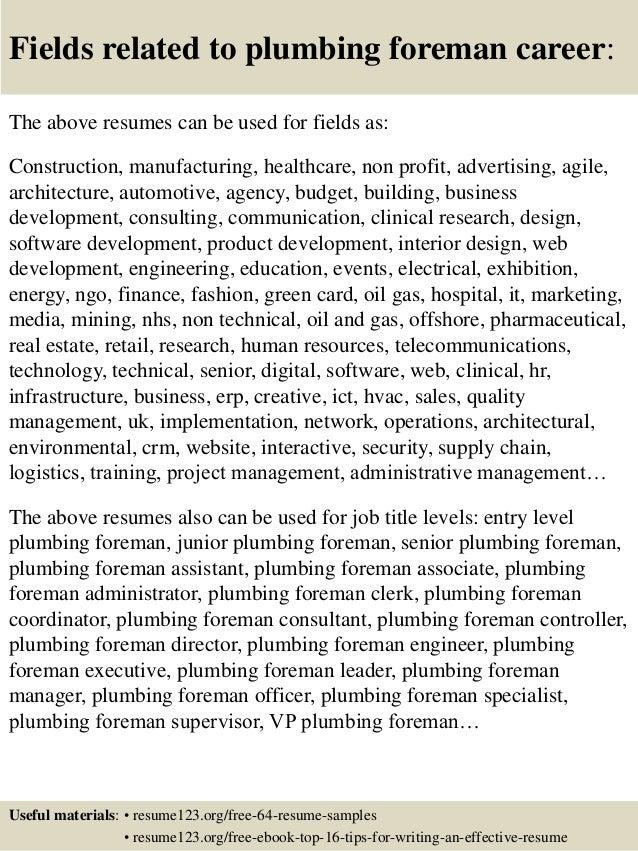 Master Plumber Resume. edumac resume part 3333333. plumber resume ...
